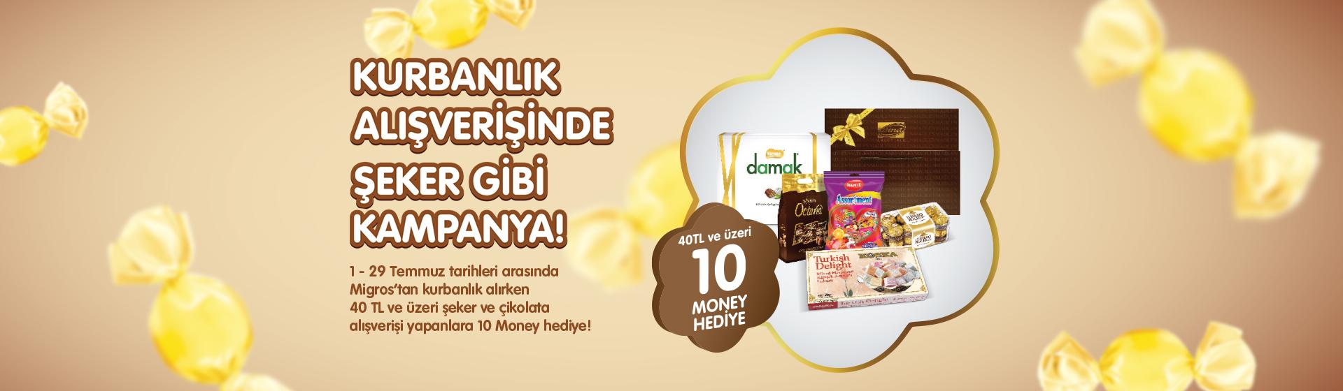 Bayram Şekeri ve Bayram Çikolatası Kampanyası