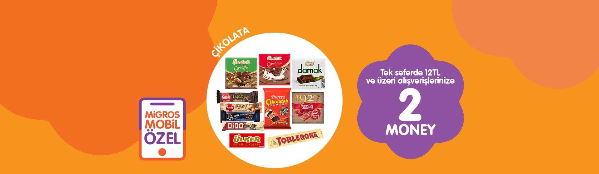 Çikolata Money Kampanyası