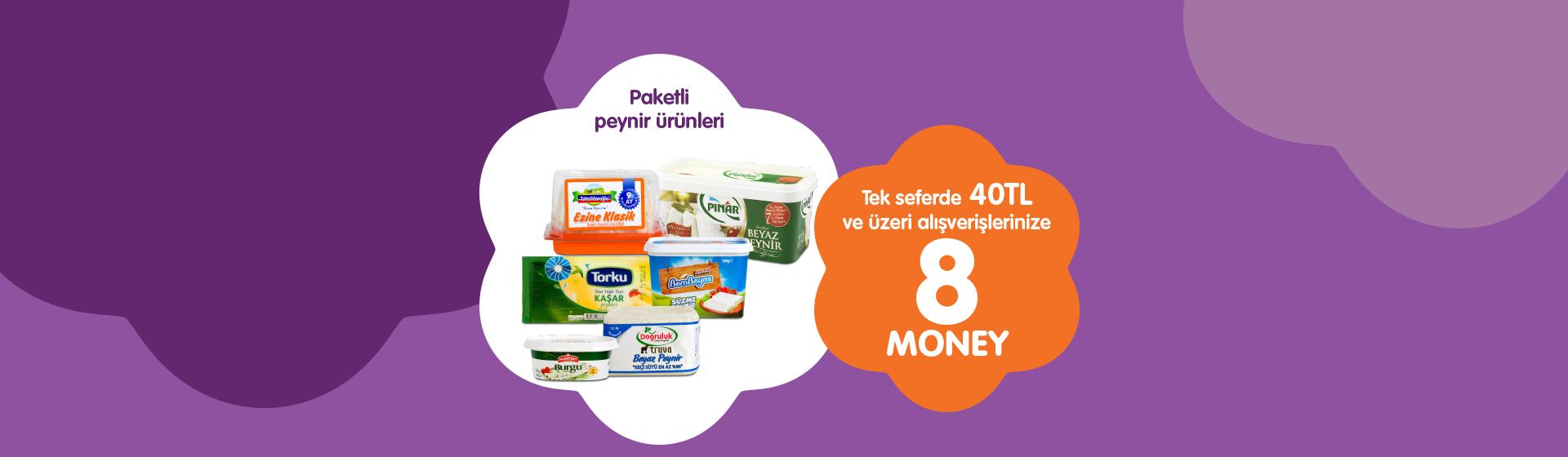 Paketli Peynir Money Kampanyası