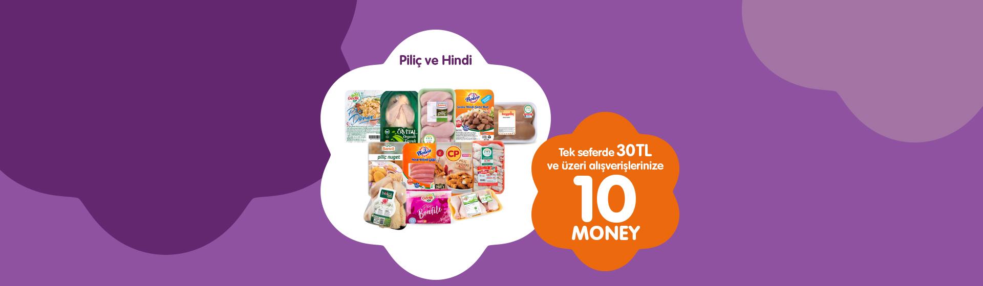 Piliç ve Hindi Money Kampanyası