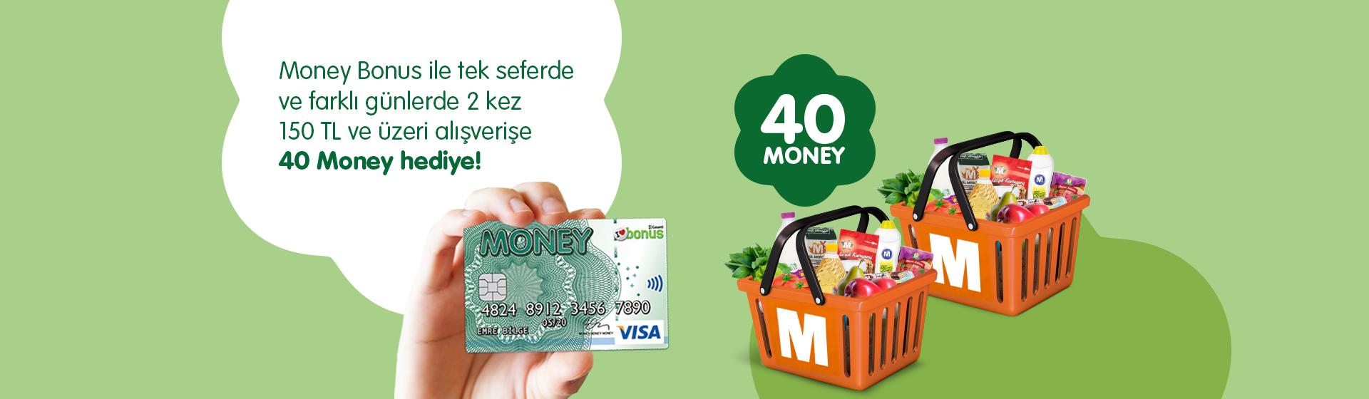Money Bonus Alışveriş Kampanyası