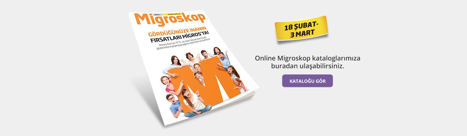 Migroskop Dijital Katalog