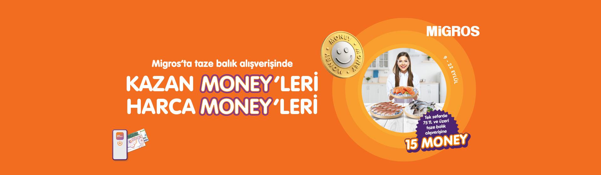 Taze Balık Money Kampanyası