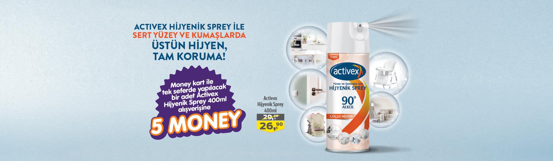 Activex Money Kampanyası