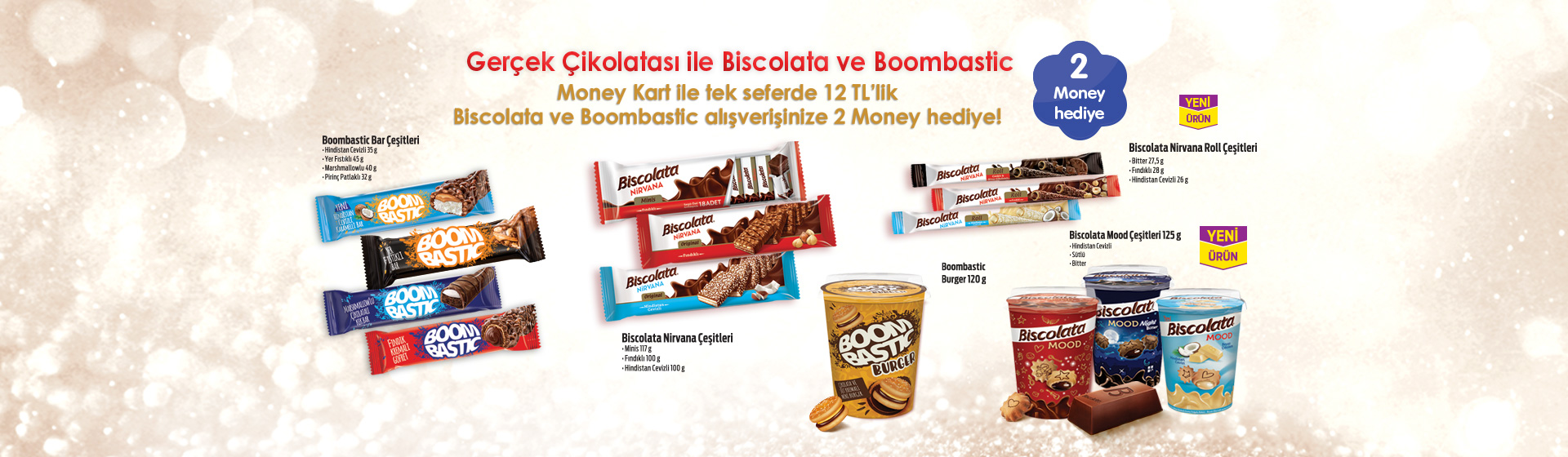 Biscolata ve Boombastic Money Kampanyası