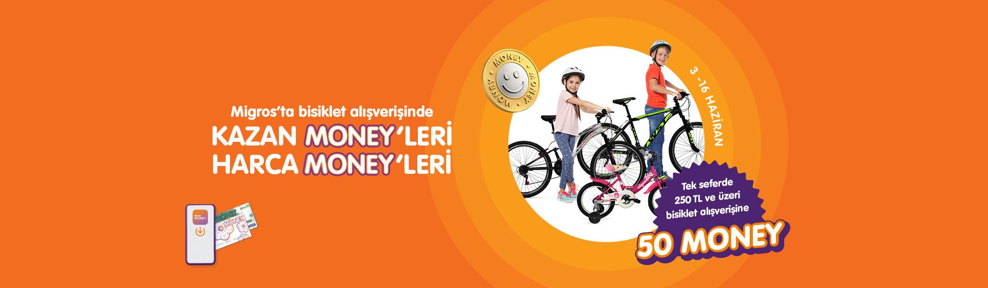 Bisiklet Money Kampanyası
