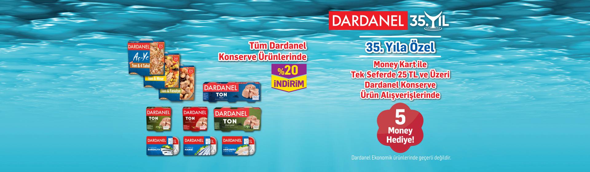 Dardanel Konserve Money Kampanyası
