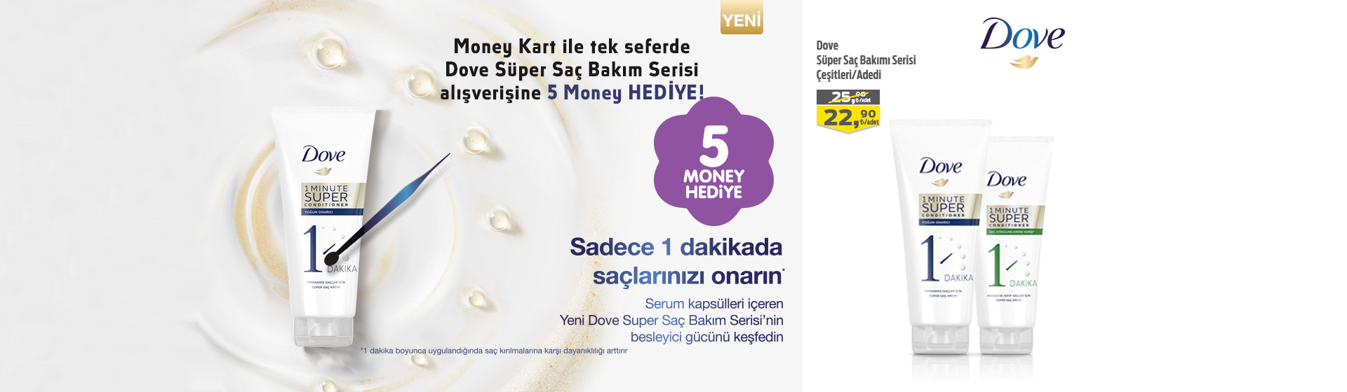 Dove Money Kampanyası