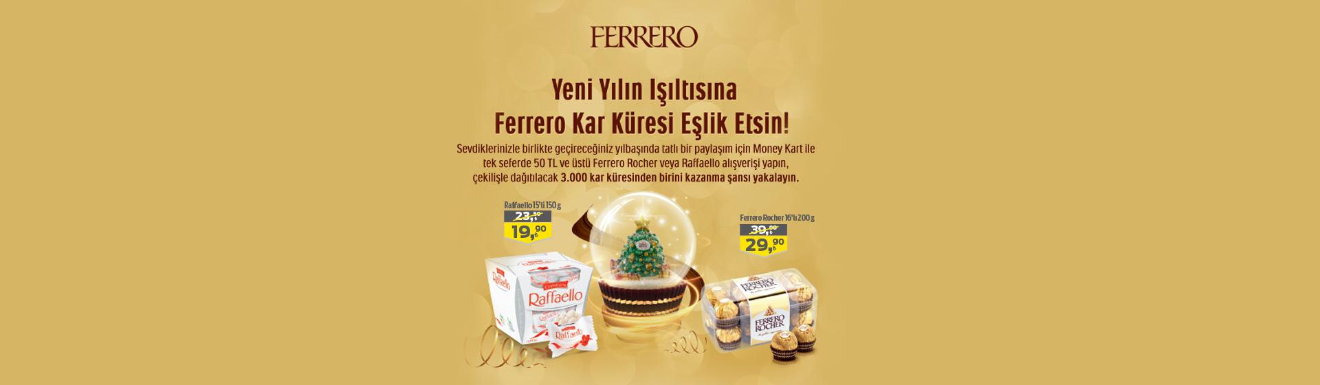 Ferrero Çekiliş Kampanyası