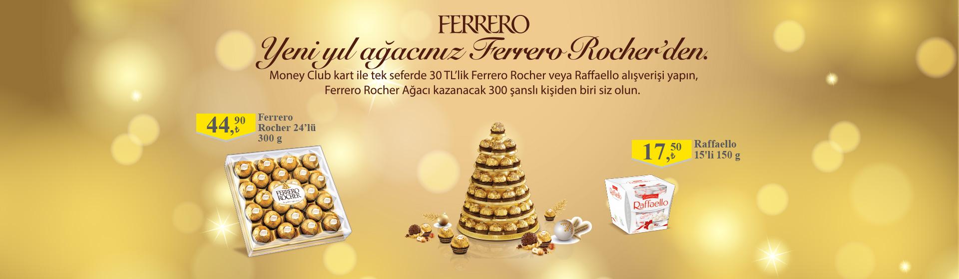 Ferrero Pralin Çekiliş kampanyası