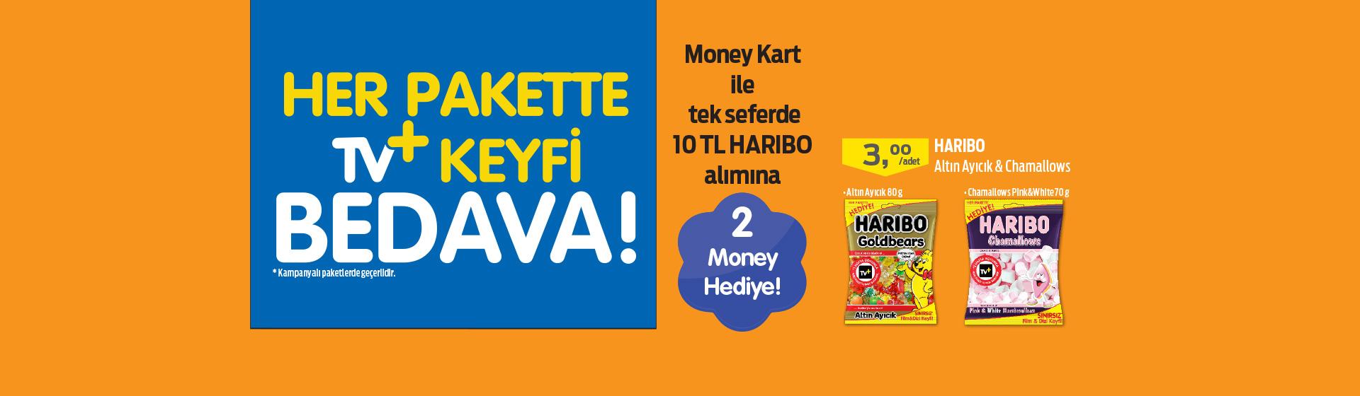 Haribo Money ve Turkcell TV+ Kampanyası