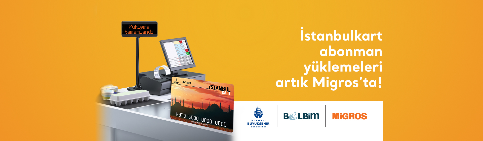 İstanbulkart Abonman Yüklemeleri