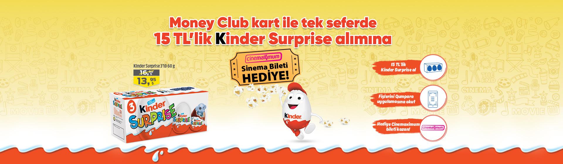 Kinder Sinema Bileti Kampanyası