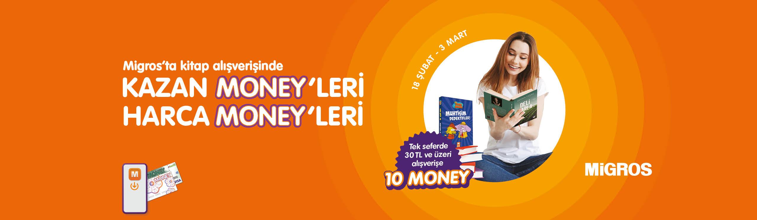 Kitap Money Kampanyası