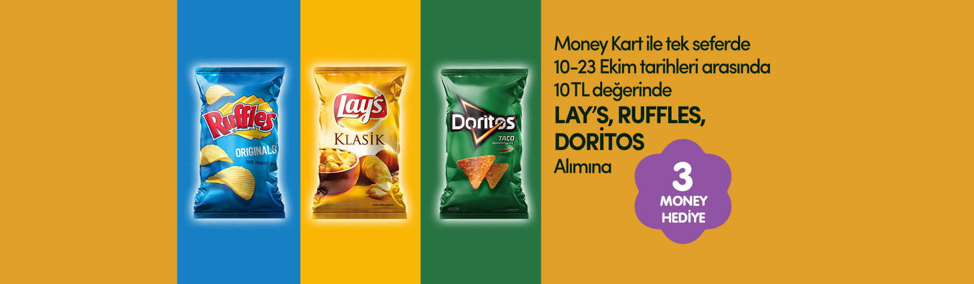 Lay's Ruffles Doritos Money Kampanyası