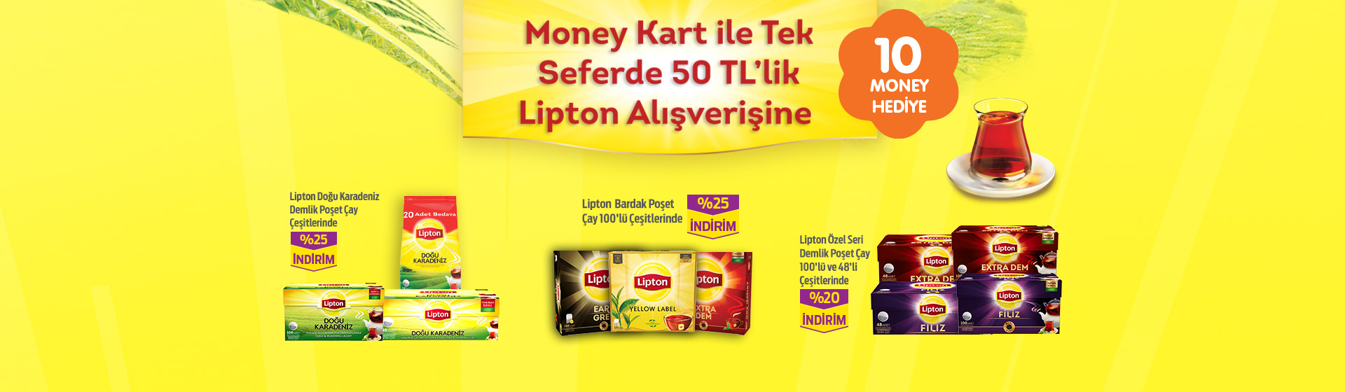Lipton Money Kampanyası