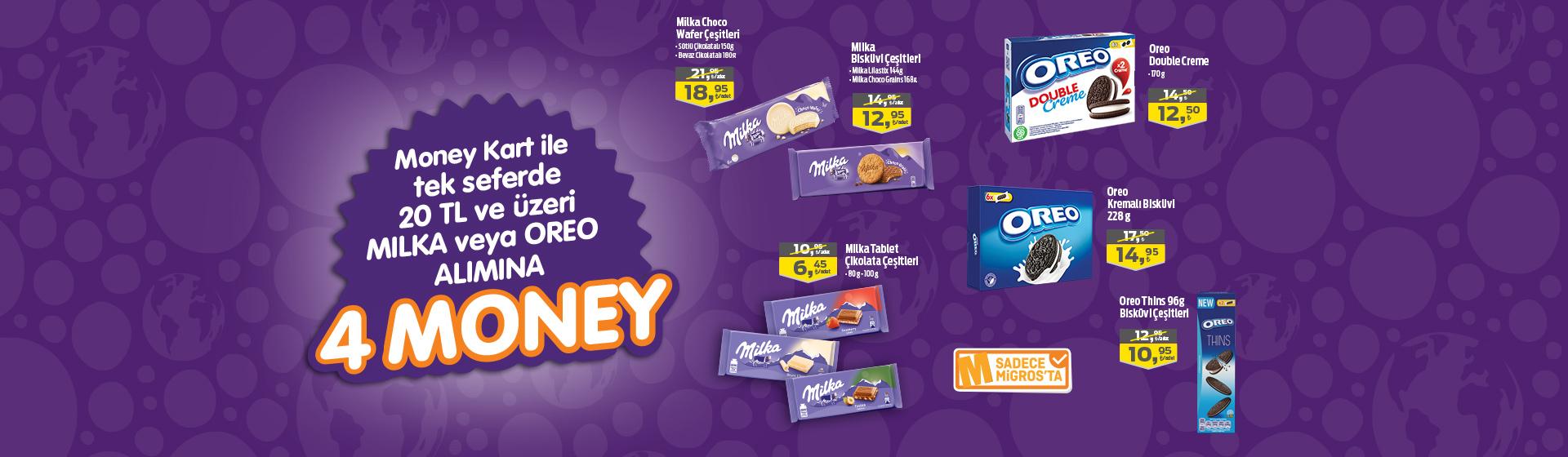 Milka&Oreo Money Kampanyası
