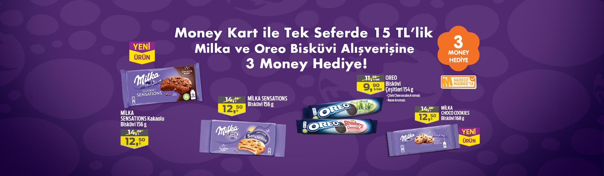 Milka, Oreo Money Kampanyası