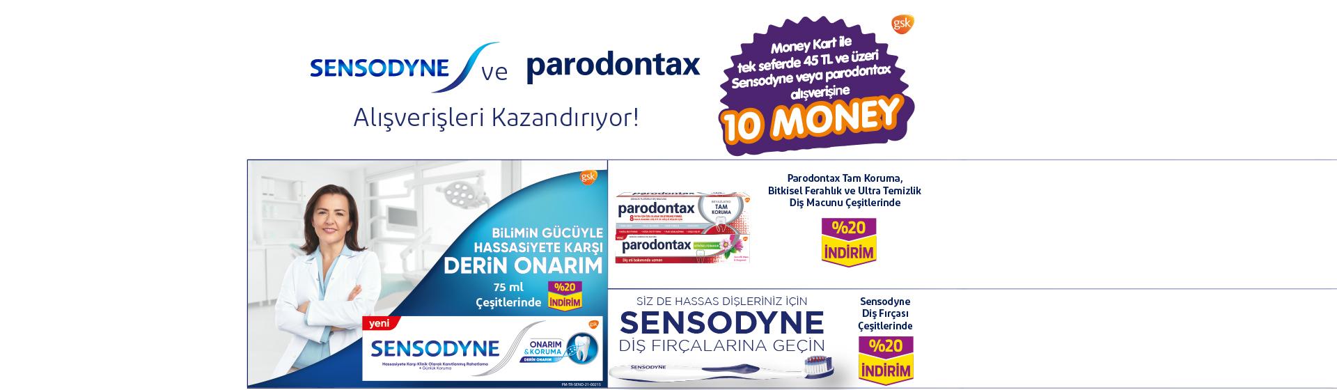 Sensodyne-Paradontax Money Kampanyası