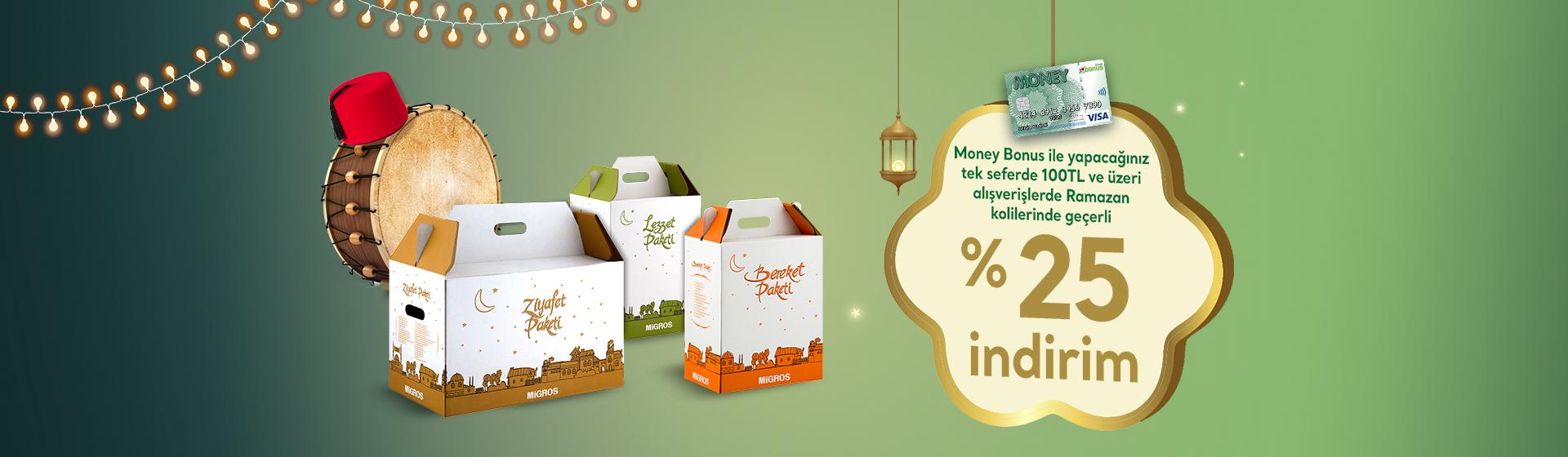 Money Bonus Ramazan Kolisi Kampanyası