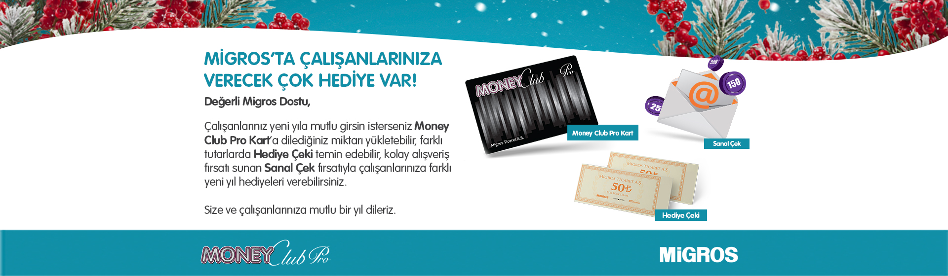 Money Club Pro Alışveriş Kartı