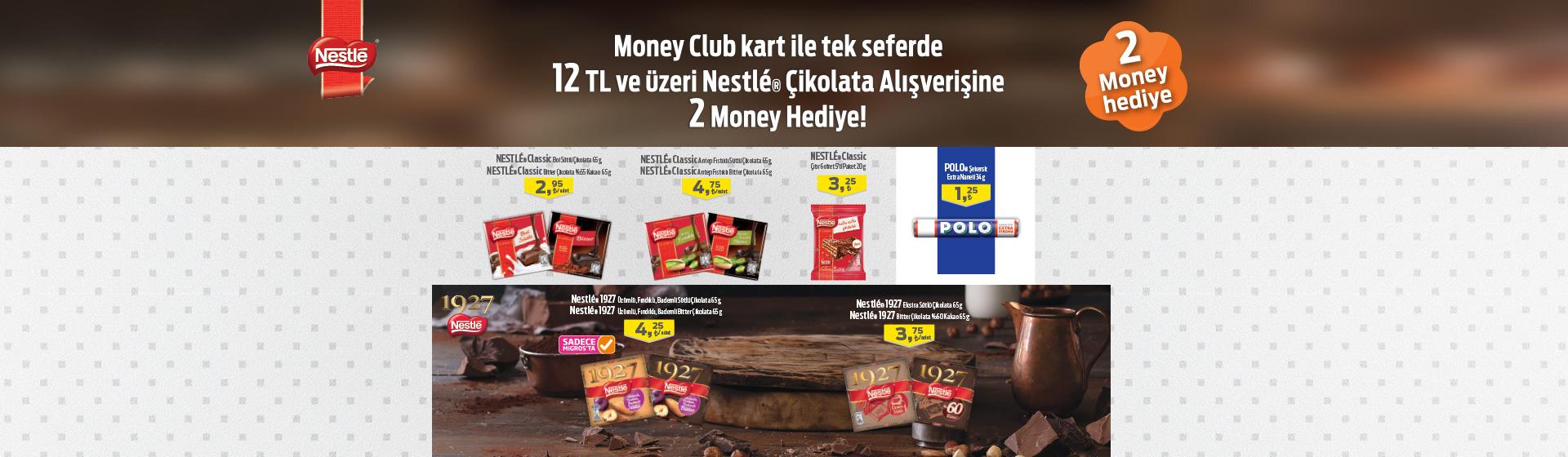 Nestle Çikolata Money Kampanyası