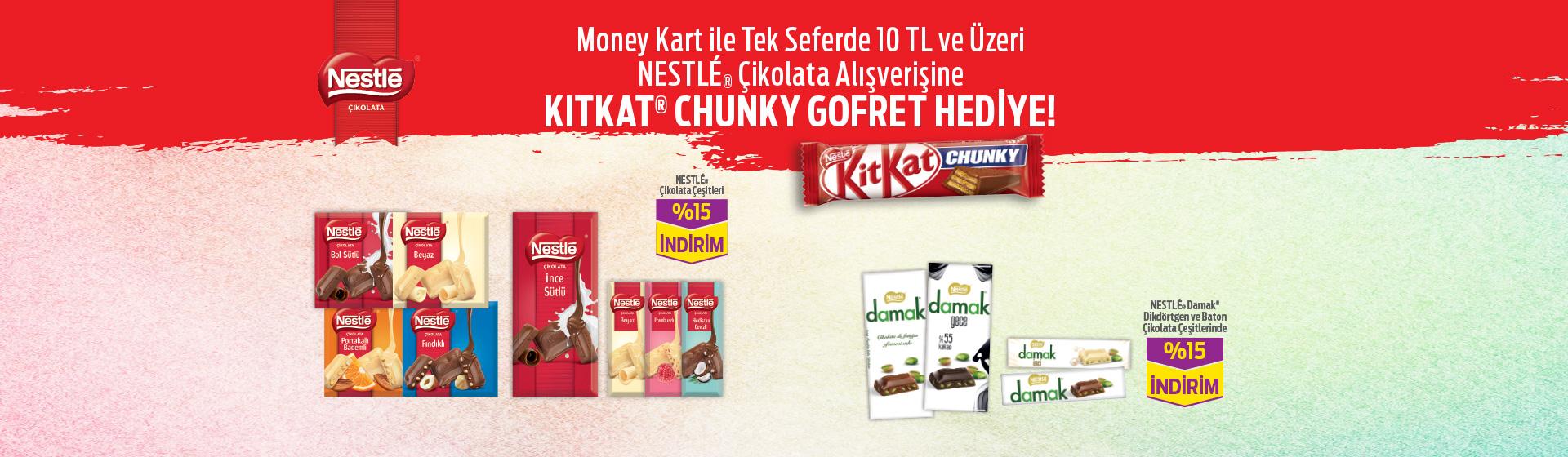 Nestle Çikolata Hediye Kampanyası