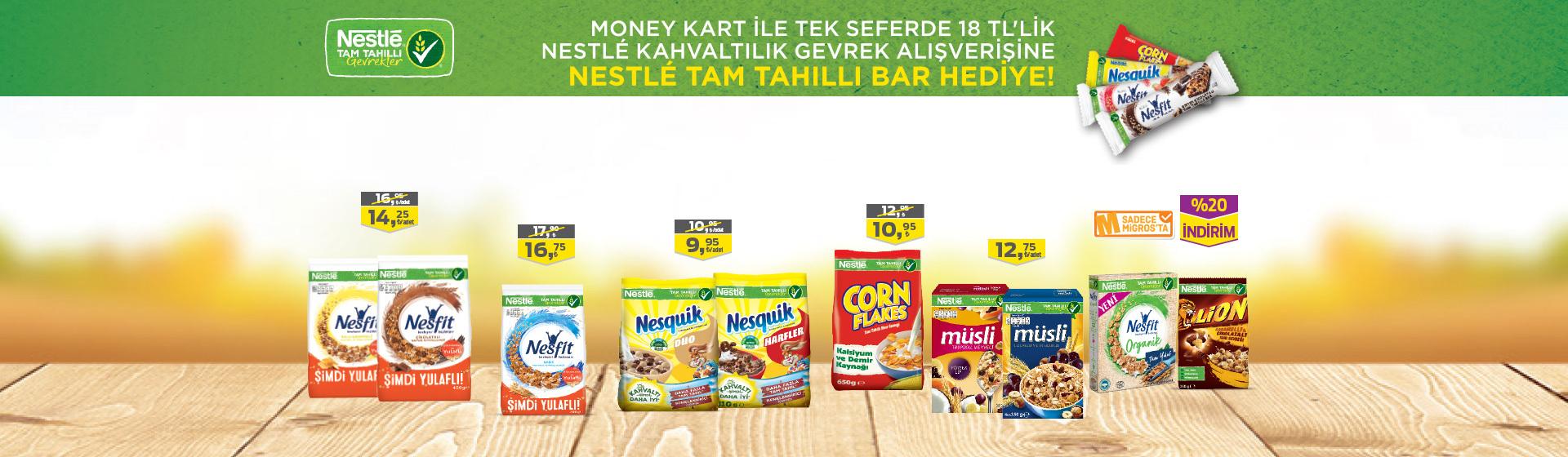 Nestle Kahvaltılık Gevrek Hediye Kampanyası