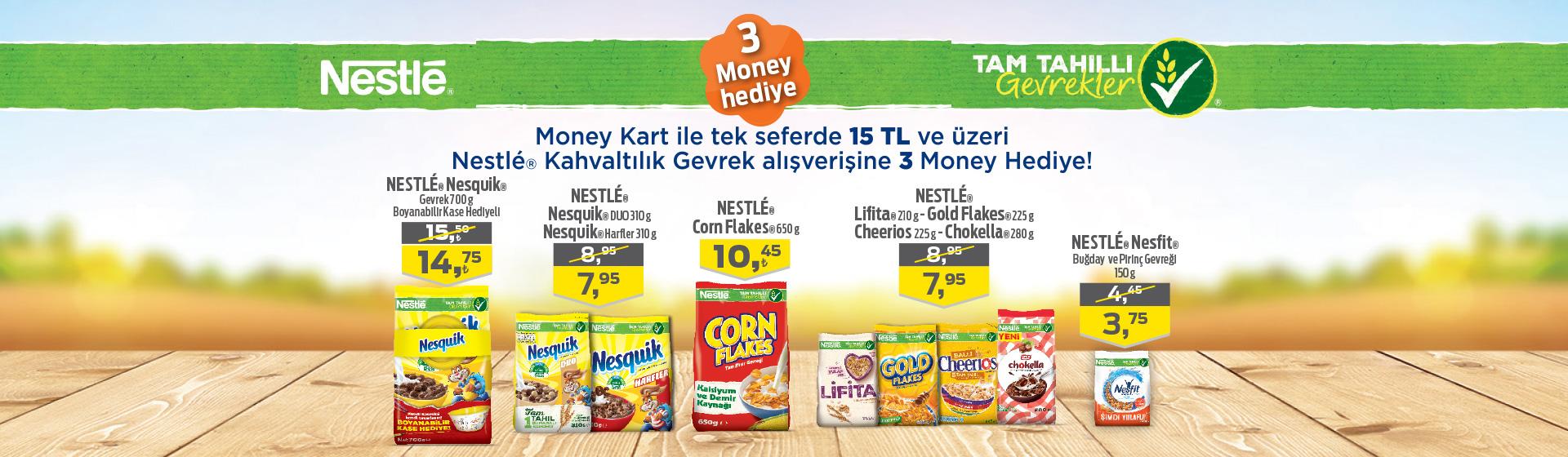 Nestle Kahvaltılık Gevrek Money Kampanyası