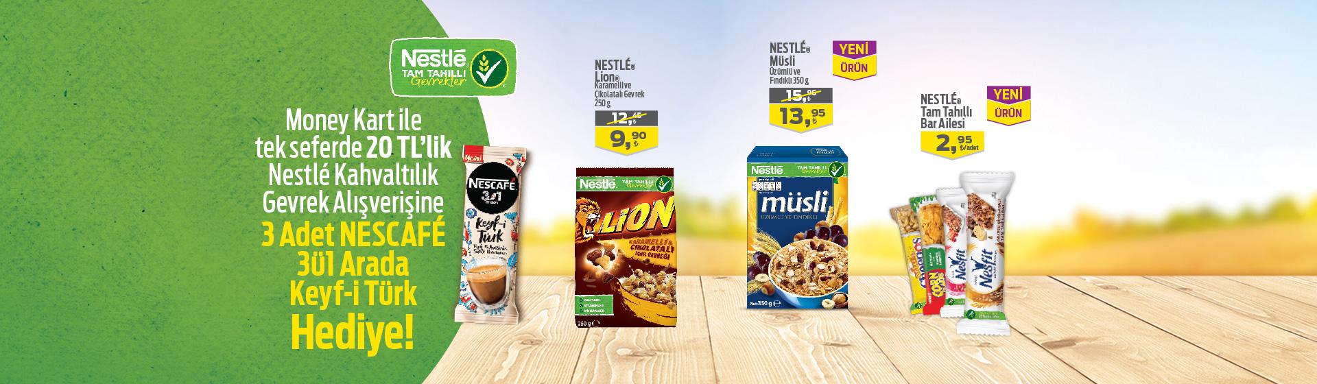 Nestle Kahvaltılık Kampanyası