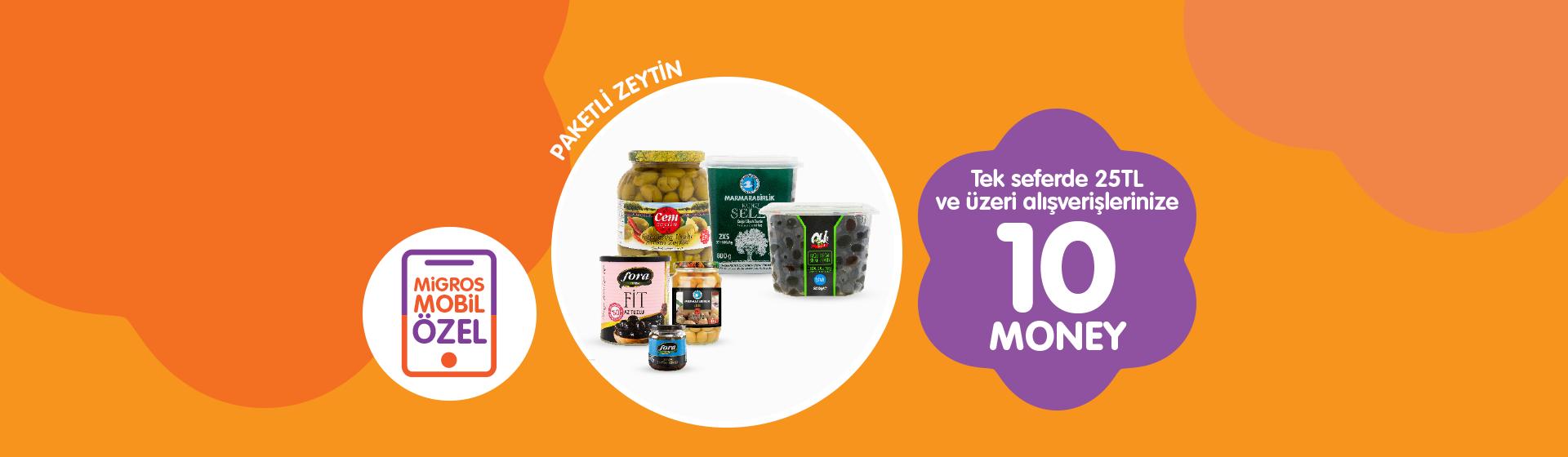 Paketli Zeytin Money Kampanyası