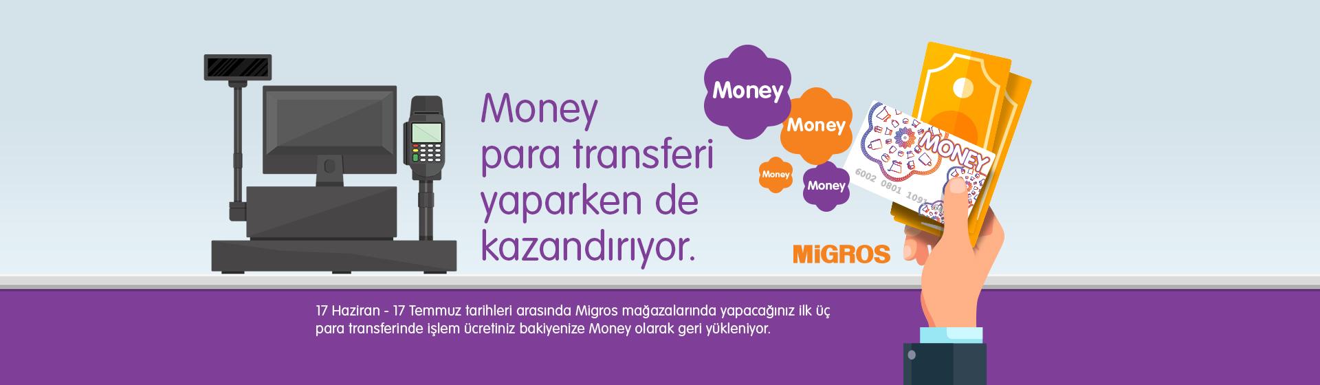 Money Para Transferi Kampanyası