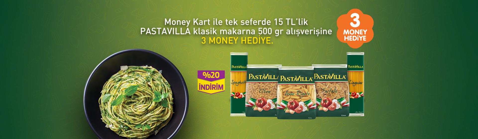 Pastavilla Money Kampanyası