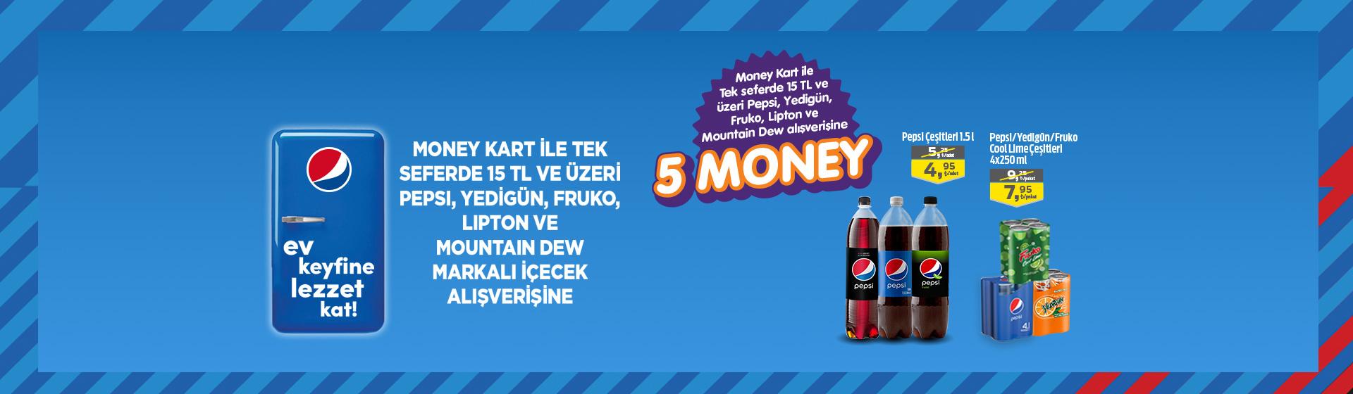 Pepsico Money Kampanyası