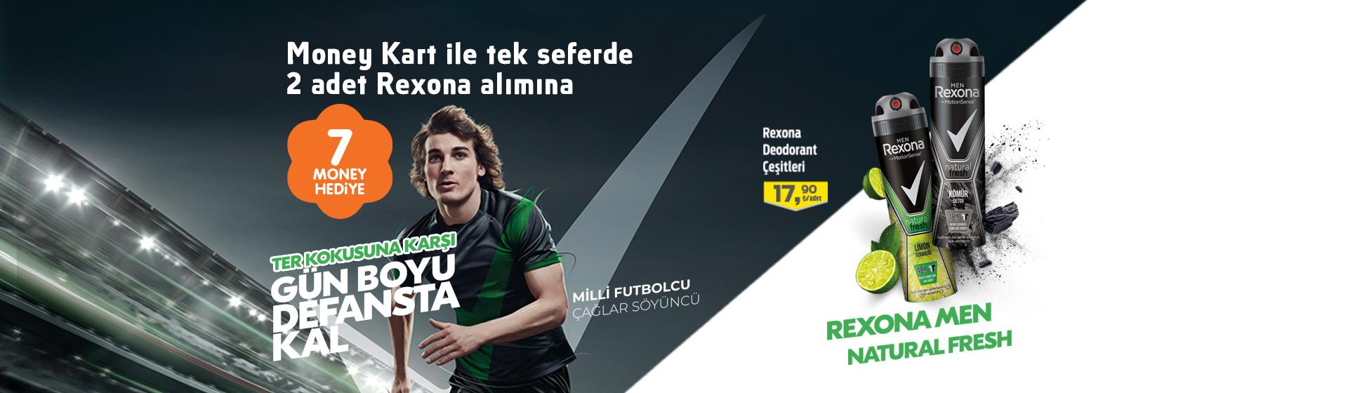 Rexona Men Money Kampanyası
