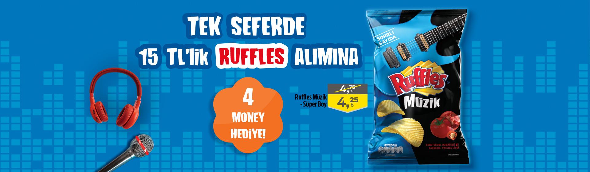 Ruffles Money Kampanyası