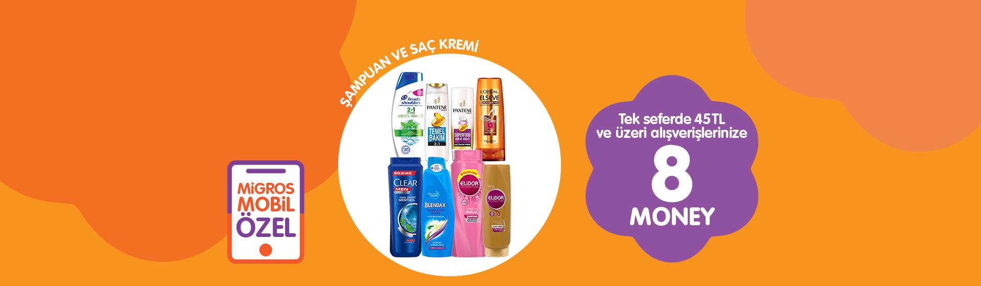Şampuan ve Saç Kremi Money Kampanyası