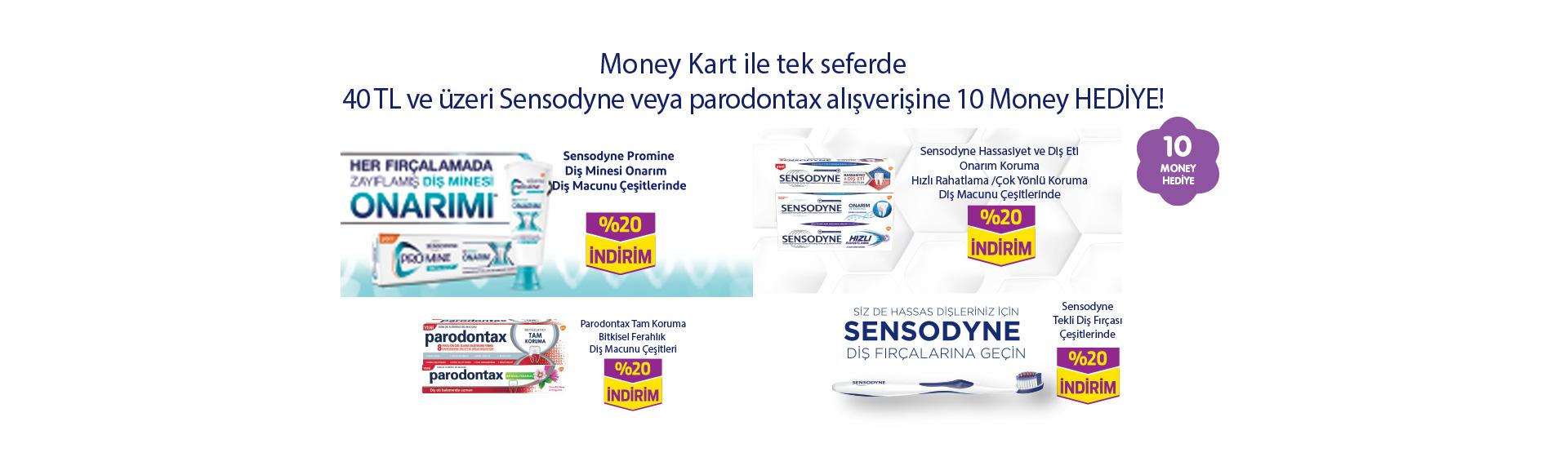 Sensodyn Money Kampanyası