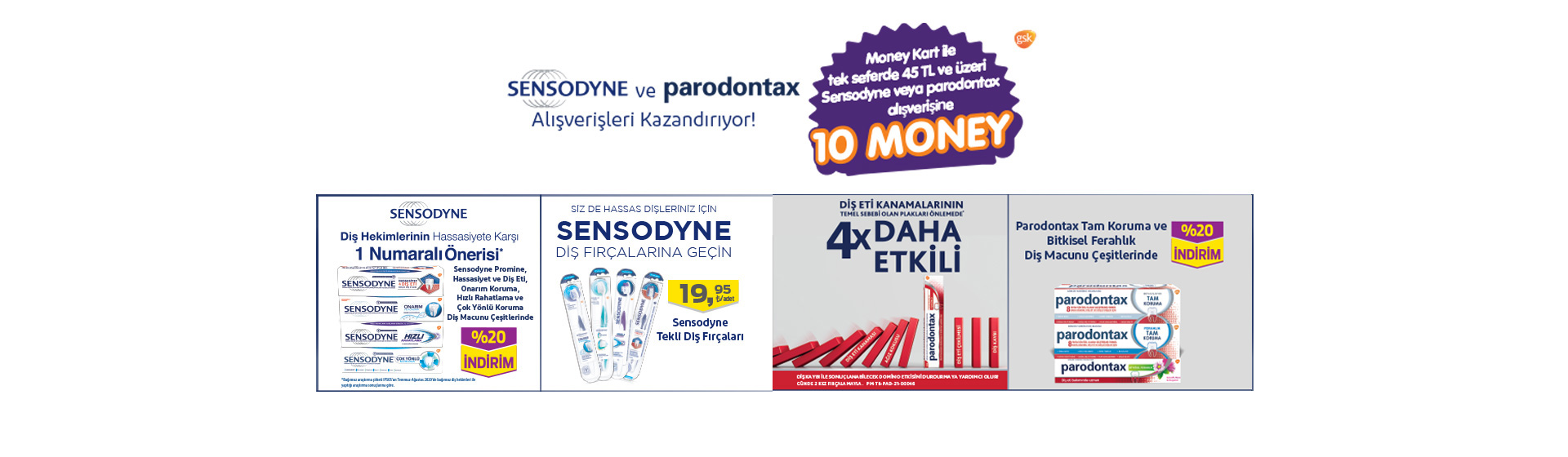 Sensodyne Money Kampanyası