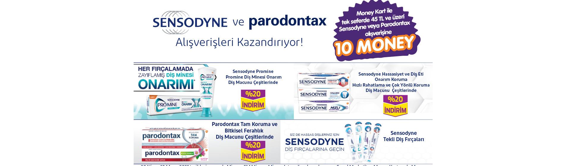 Sensodyne Paradontax Money Kampanyası