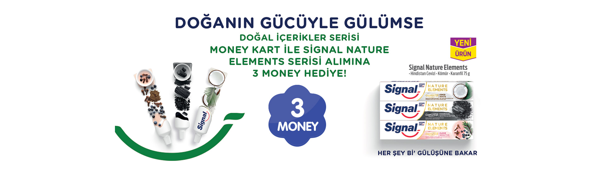 Signal Nature Elements Money kampanyası