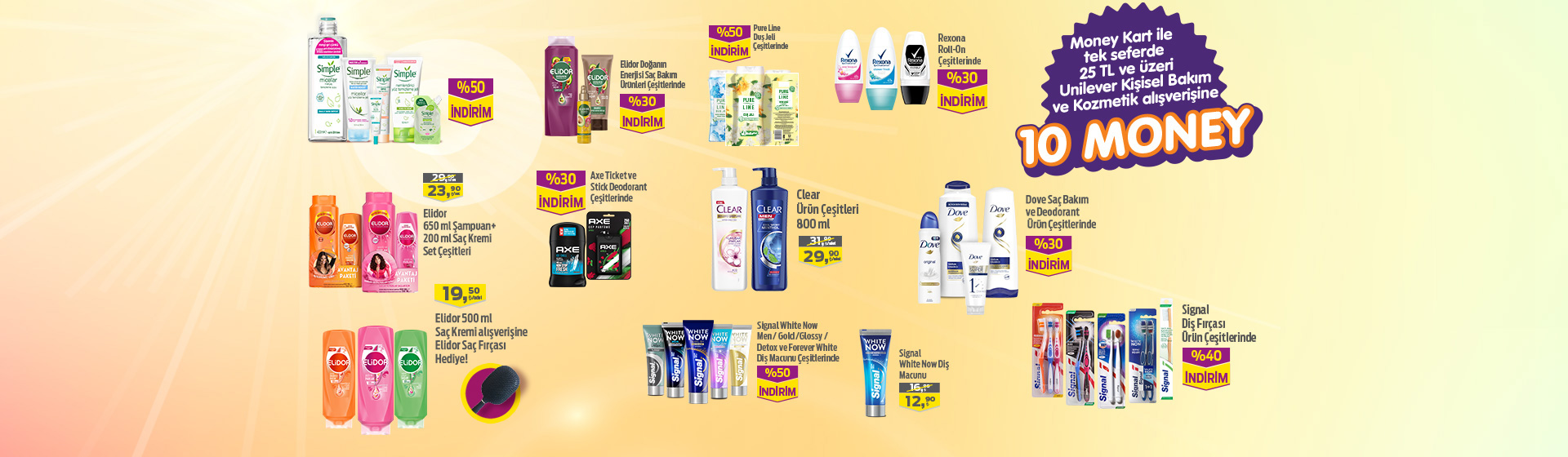 Unilever Kozmetik Money Kampanyası