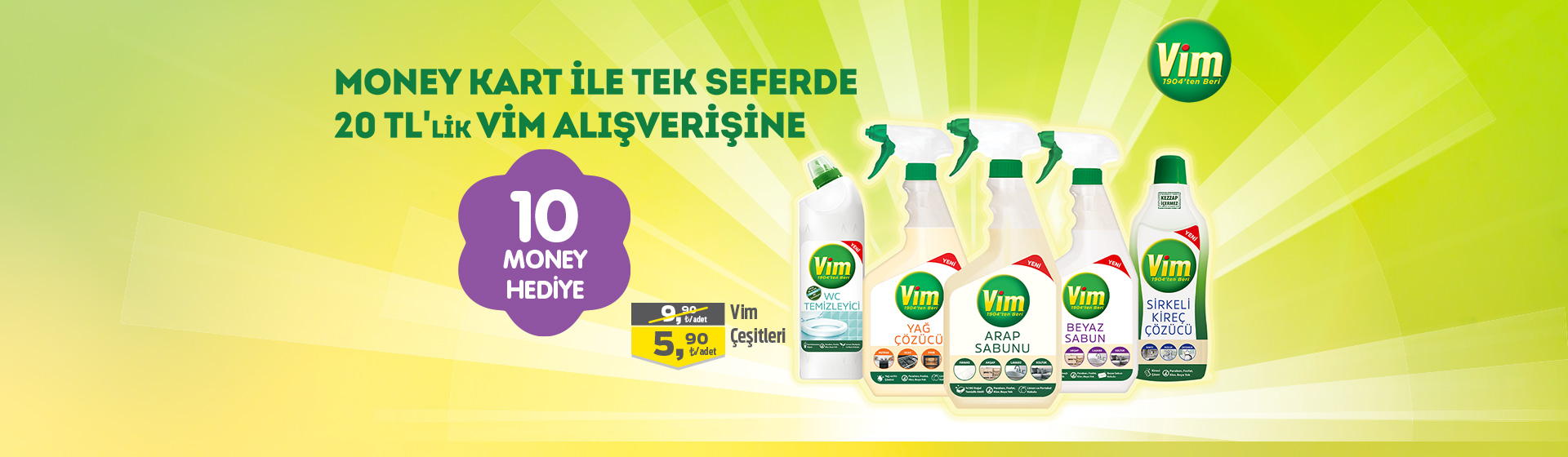 Vim Money Kampanyası