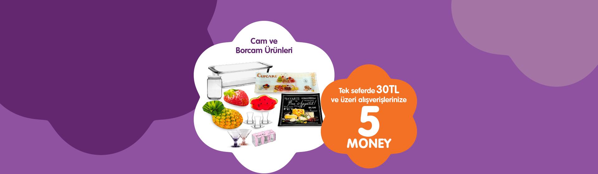 Cam ve Borcam Money Kampanyası