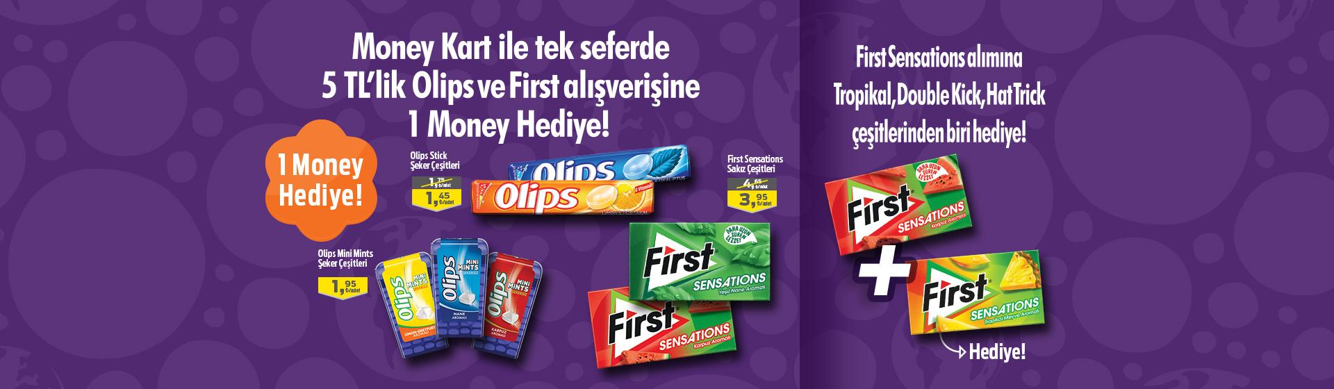 Olips&First Money Kampanyası