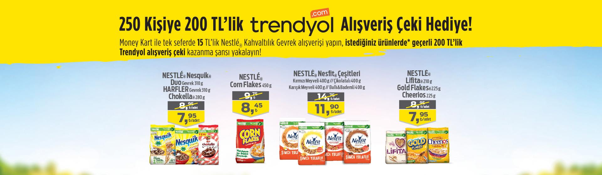Trendyol & Nestle Çekiliş Kampanyası